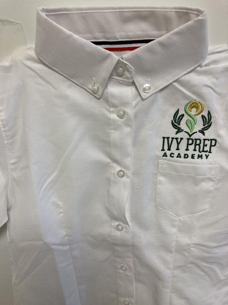 IVY Prep Embroidered Oxford