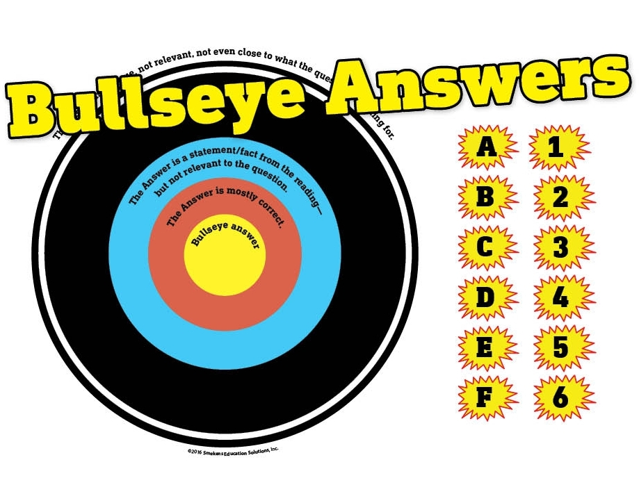 Multiple-Choice Test-Prep Strategy Bullseye Answers Downloads