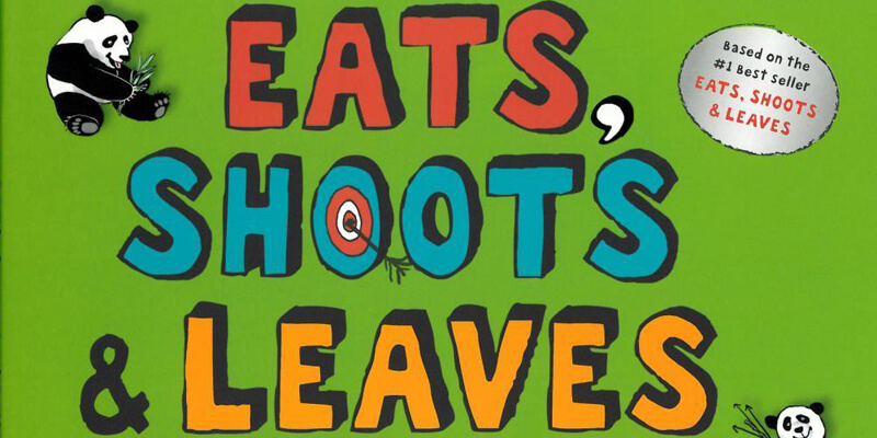 Six Traits Mentor Texts Trait of Conventions Eats, Shoots & Leaves