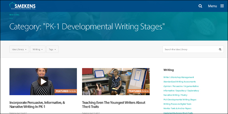 PK-1 Developmental Stages of Writing
