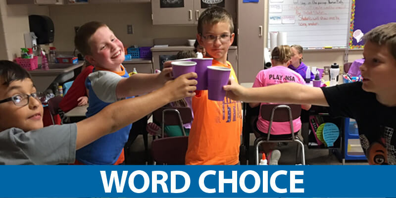 Trait of Word Choice Mini-Lessons