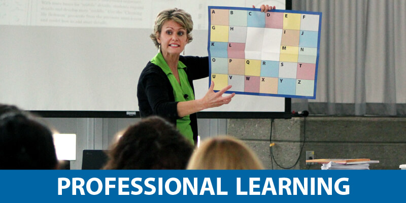 6-Traits Professional Learning for K-12 Literacy Instruction