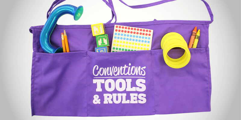 Six Traits of Writing Conventions Tool Belt