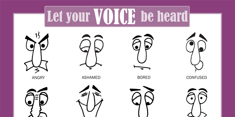 Six Traits of Writing Voice poster