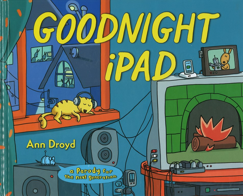 Goodnight iPad Teach Parody with Picture Books