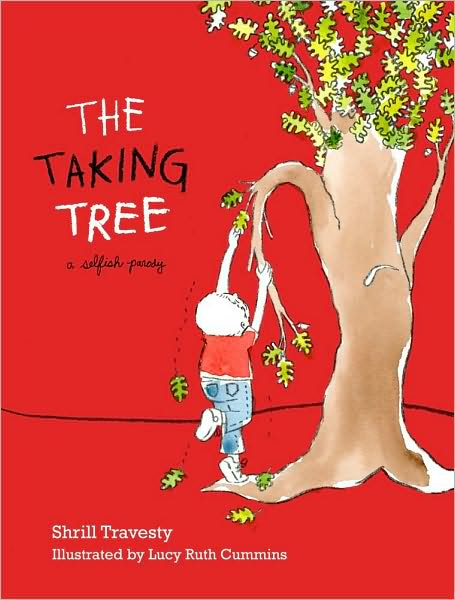 The Taking Tree Teach Parody with Picture Books