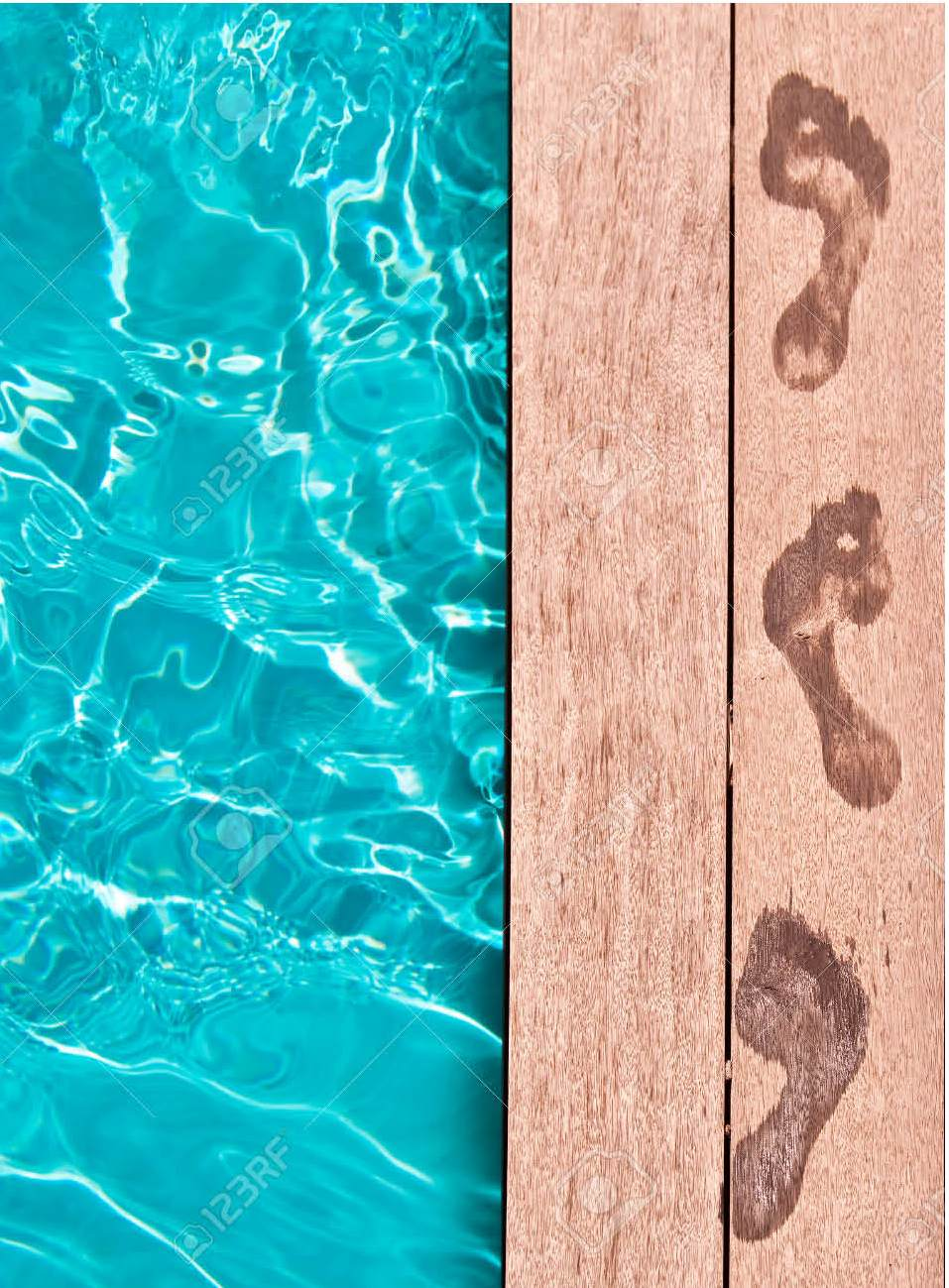 Annotation Tracks by the pool