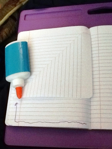 Create a pocket in a notebook