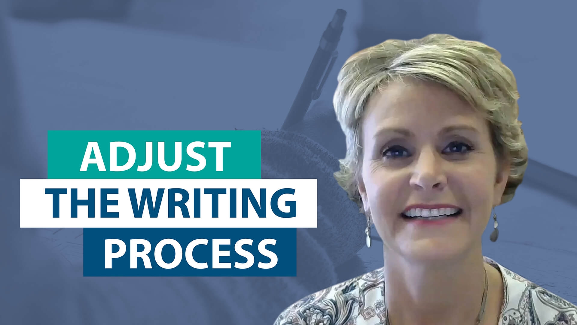 Ask Smekens: How do you adjust the writing process for 2 weeks versus 2 days?
