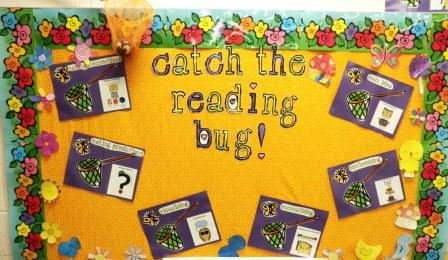 Catch the Reading Bug Bulletin Board