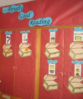 Royally Good Reading Bulletin Board