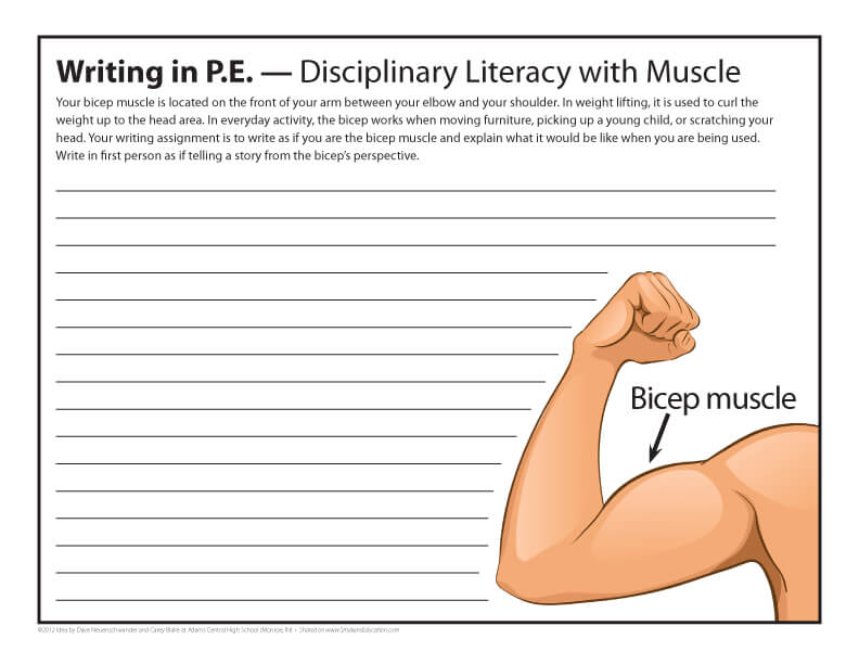 Writing In PE