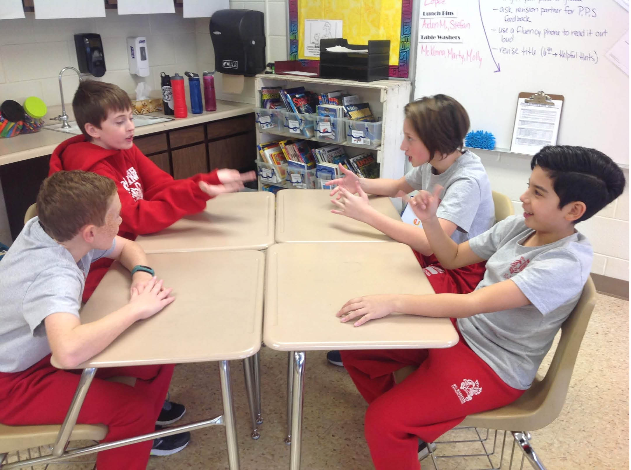 Require students to listen during classroom conversations with Talk Moves