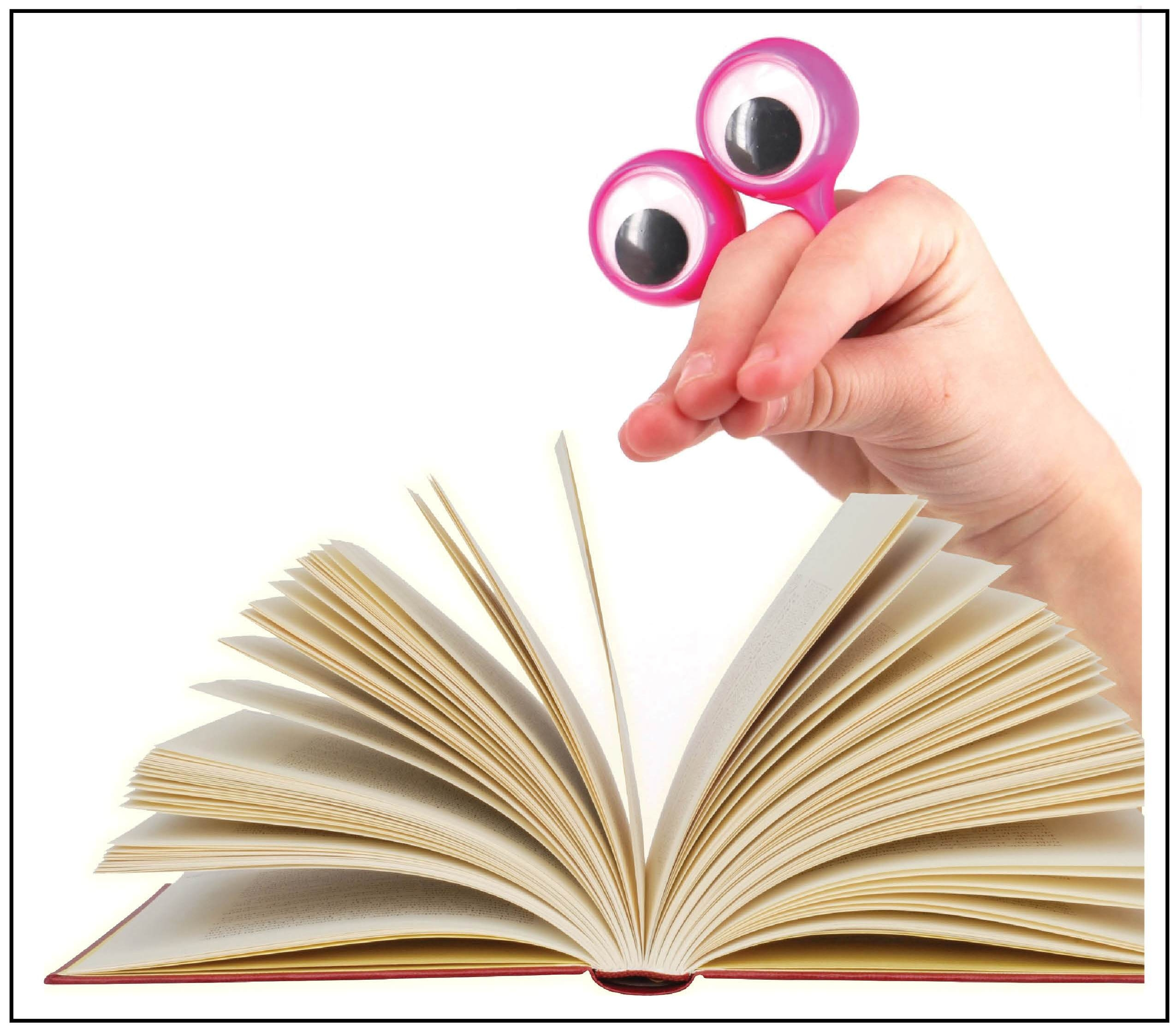 Peepers help students keep their eyes on the text for evidence-based reading responses