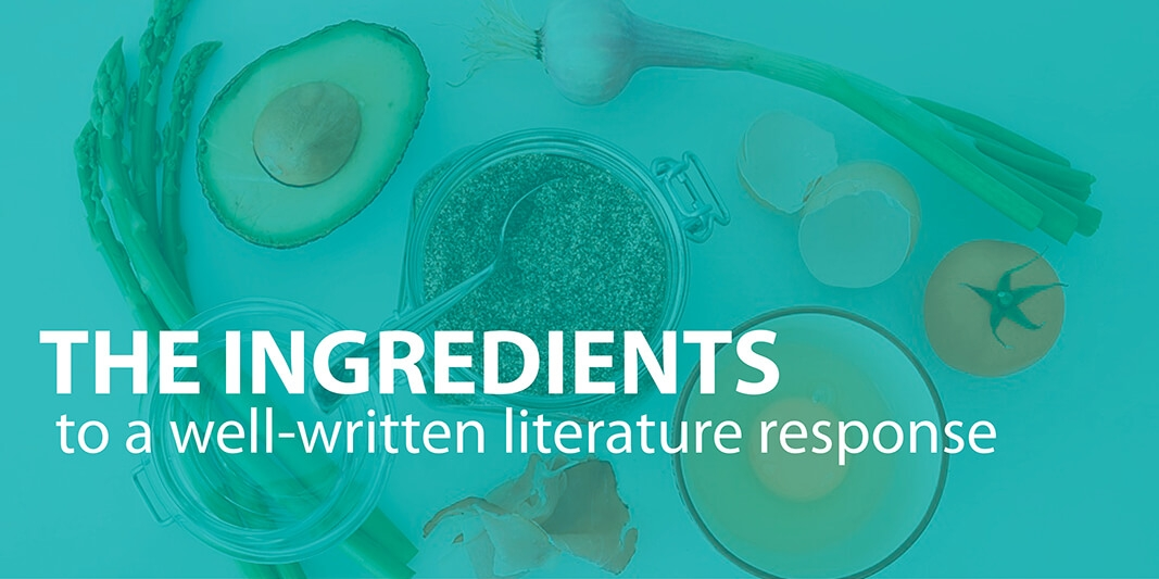 Draft Stronger Literature Responses with the 6 Traits