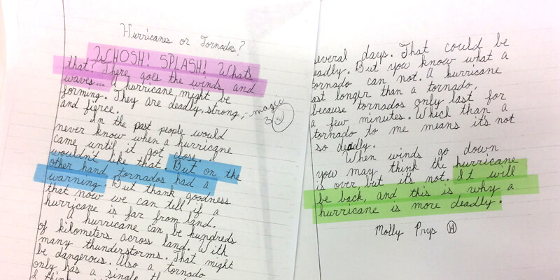 Engage Writers with Highlighter Tape