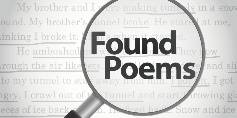 Find Poems in Previous Writing