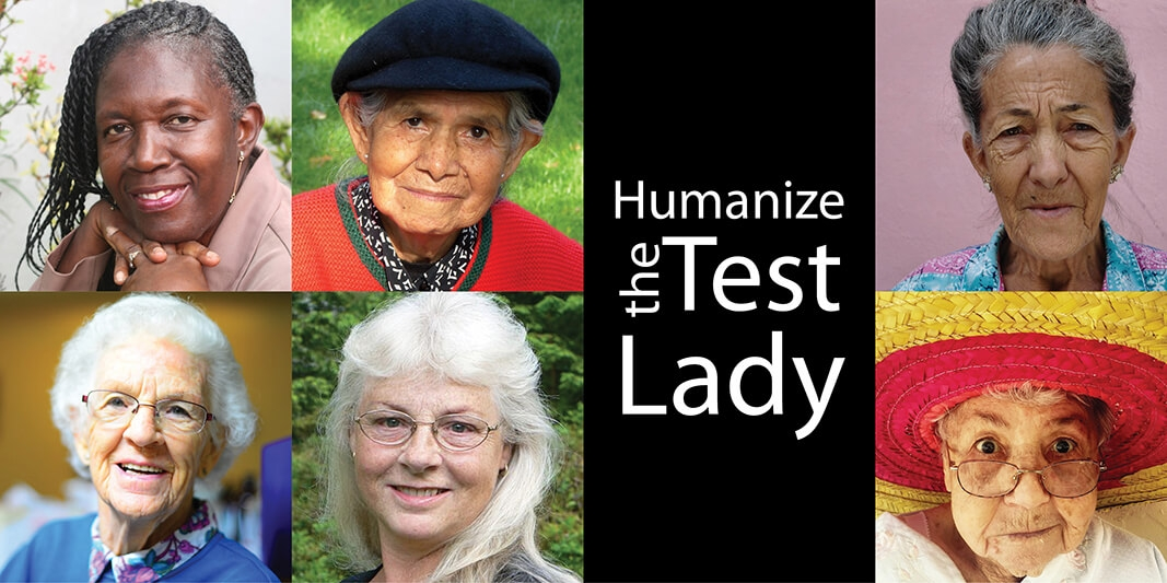 Look for the Test Lady