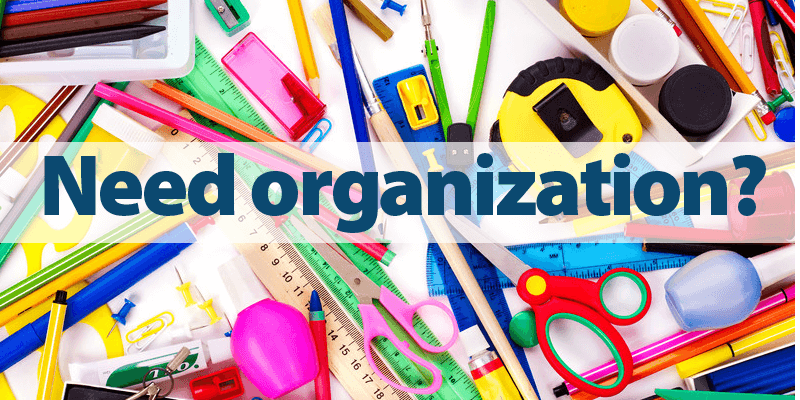 Organize Your Classroom Writing Tools