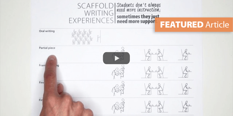 Scaffold Writing Experiences