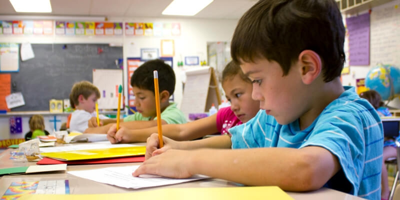 Assess Second Graders Who Use Pictures to Start Writing