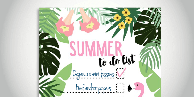 Make a Summer To-Do List