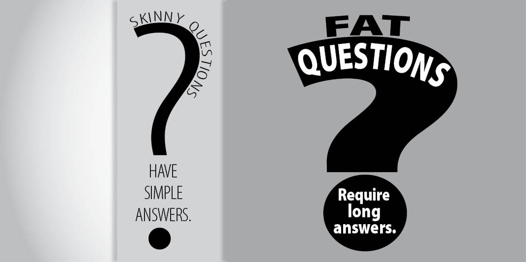 Think Beyond the Text with Fat Questions