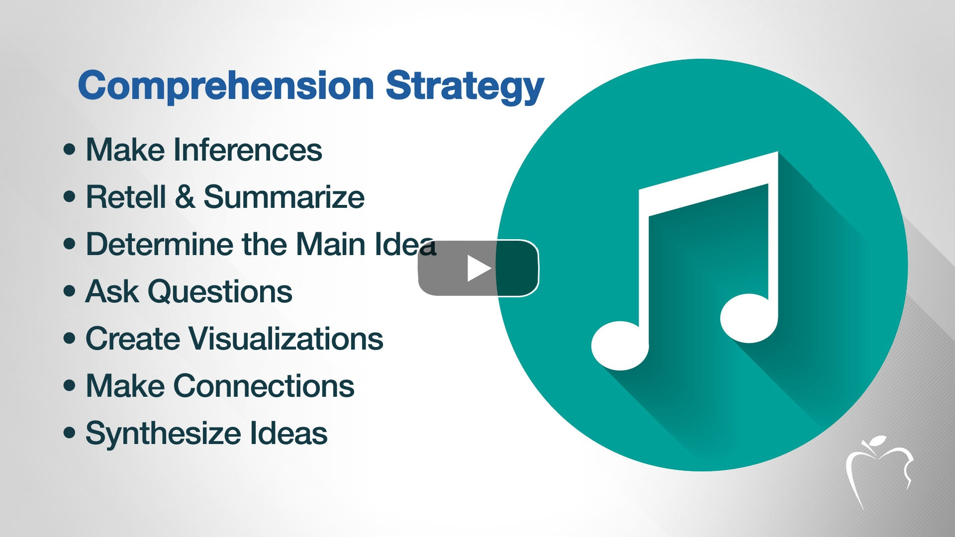 Use Songs to Introduce Comprehension Strategies