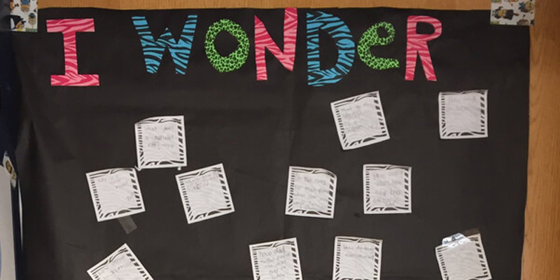 Ramp Up Questioning with a Wonder Wall