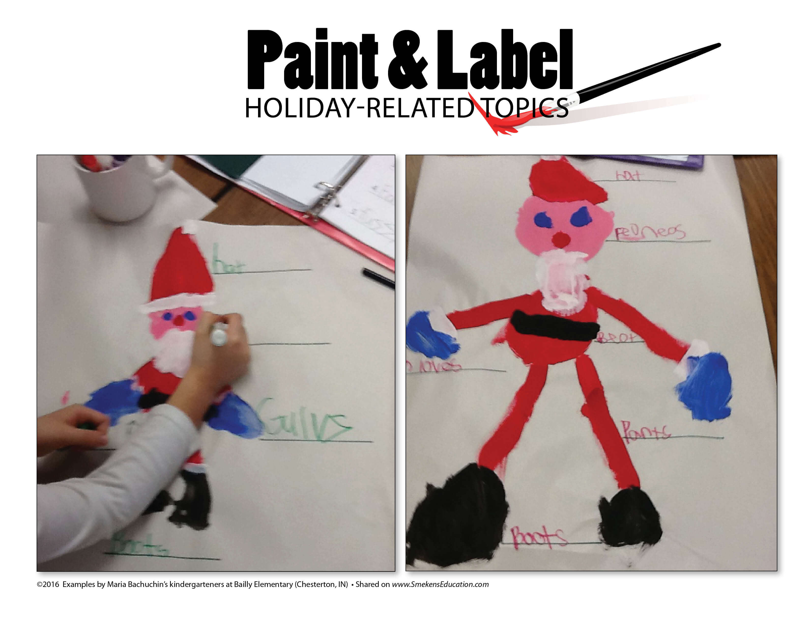Paint & Label Holiday-Related Topics