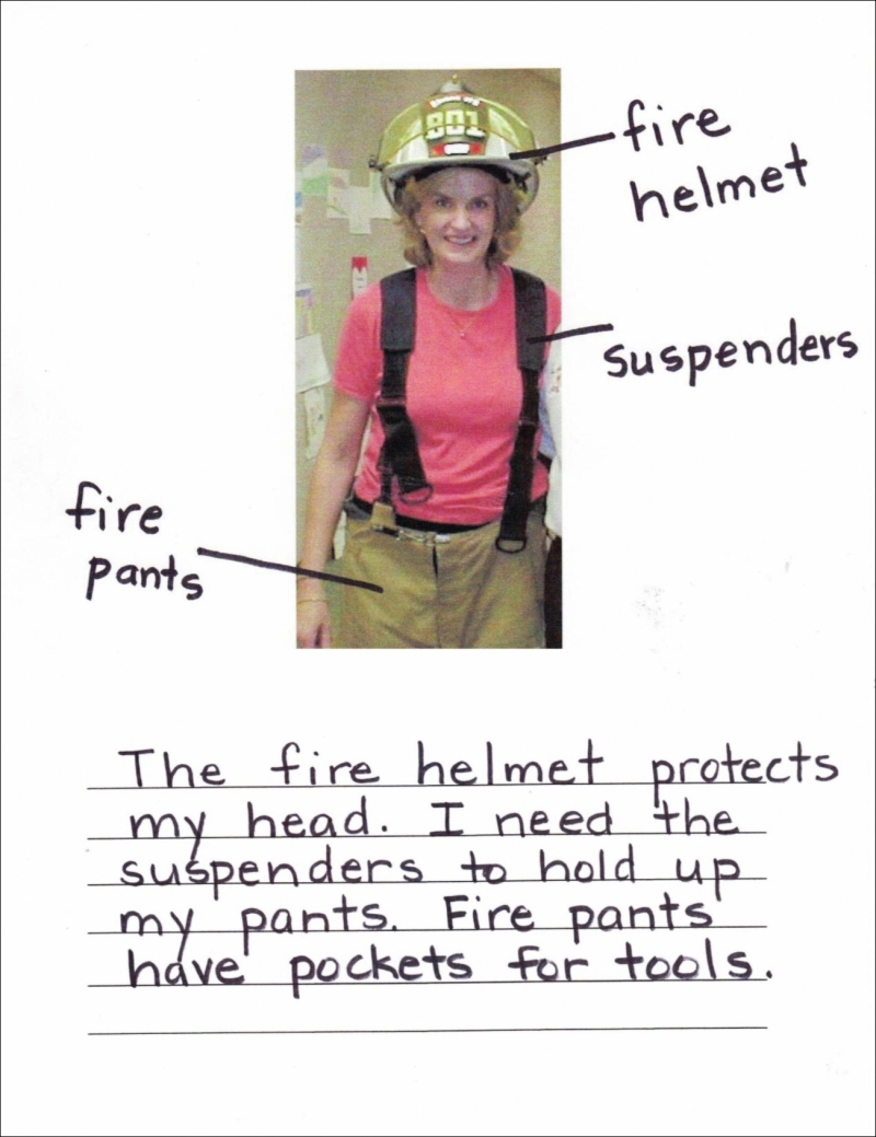 Firefighter Labels Example