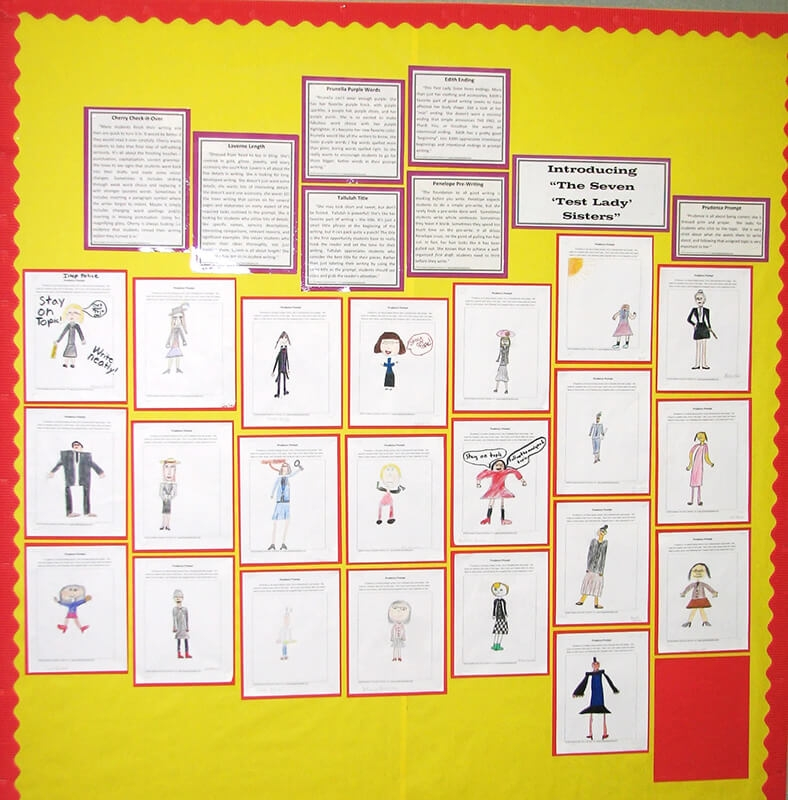 Barb Mahnesmith's Test Lady Sisters Bulletin Board