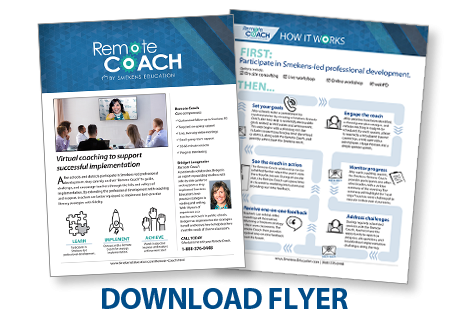 Download the Remote Coach Flyer