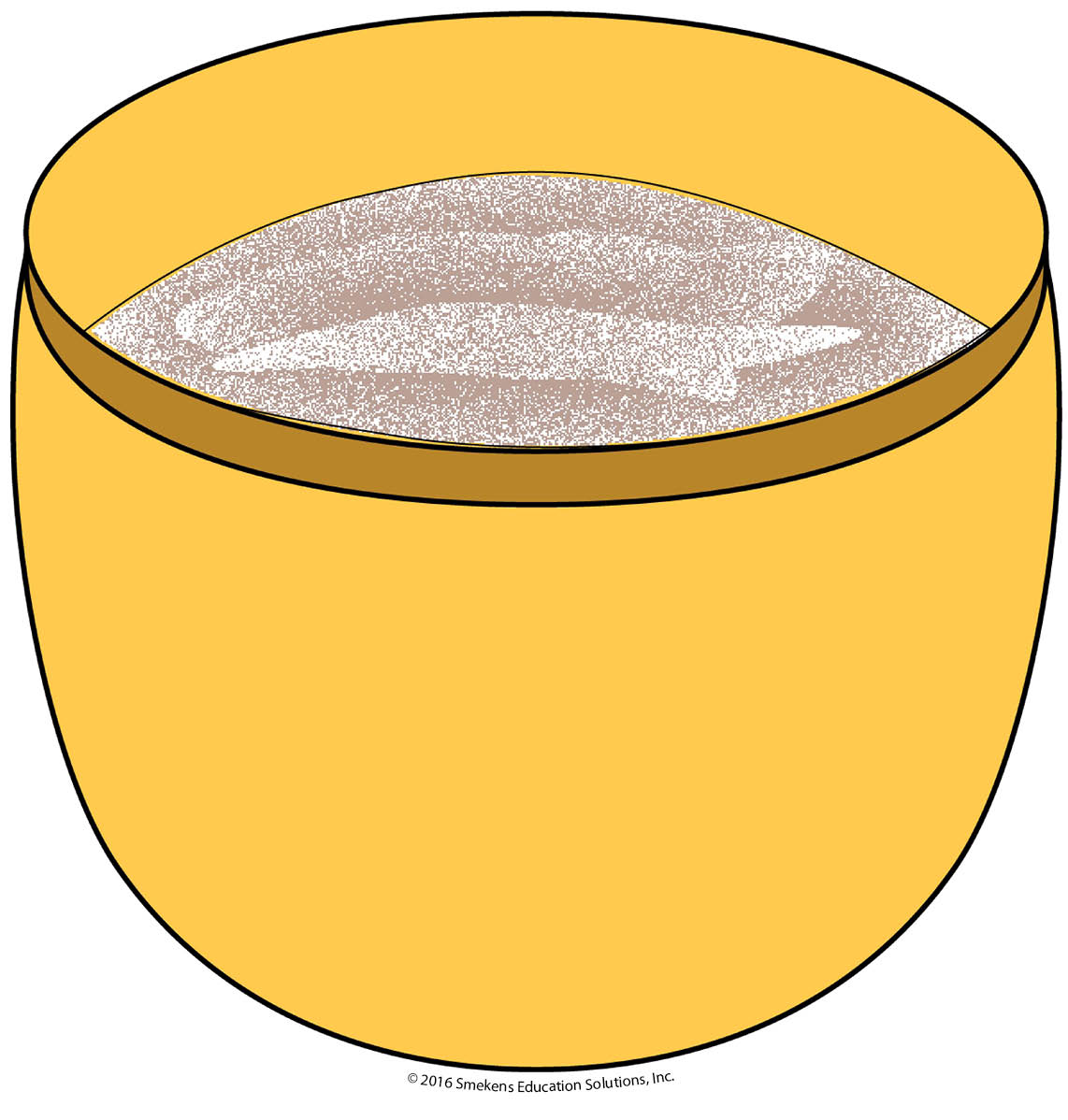 Cake Mix in a Bowl
