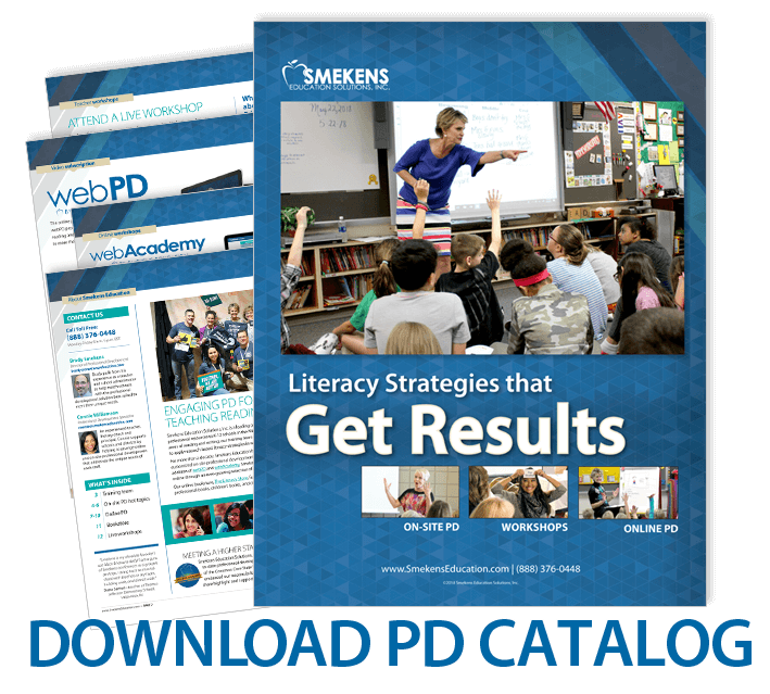 Smekens Education On-Site Professional Development Catalog