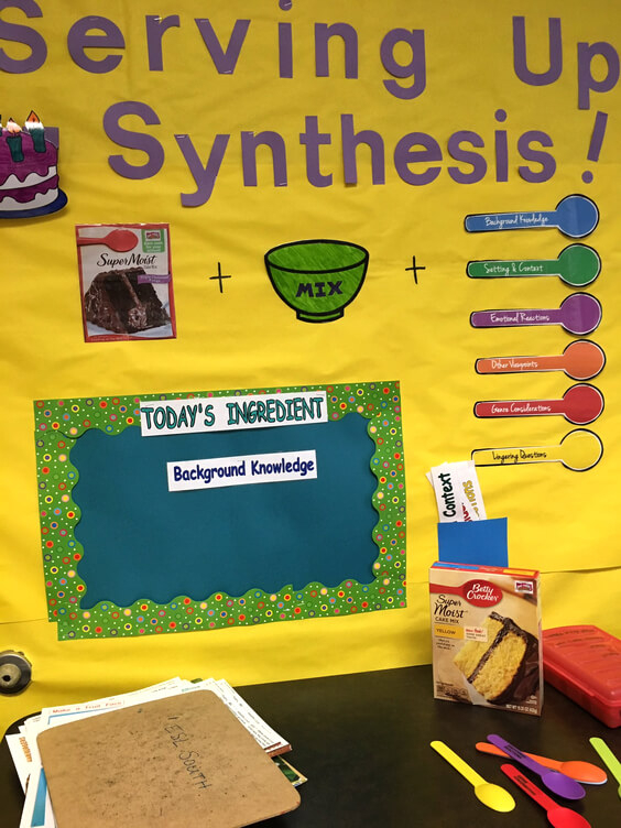 Smekens Education Synthesis Bulletin Board example