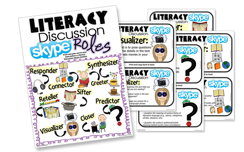Literacy Discussion Skype Roles