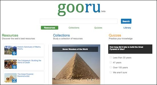 Goorue search engine