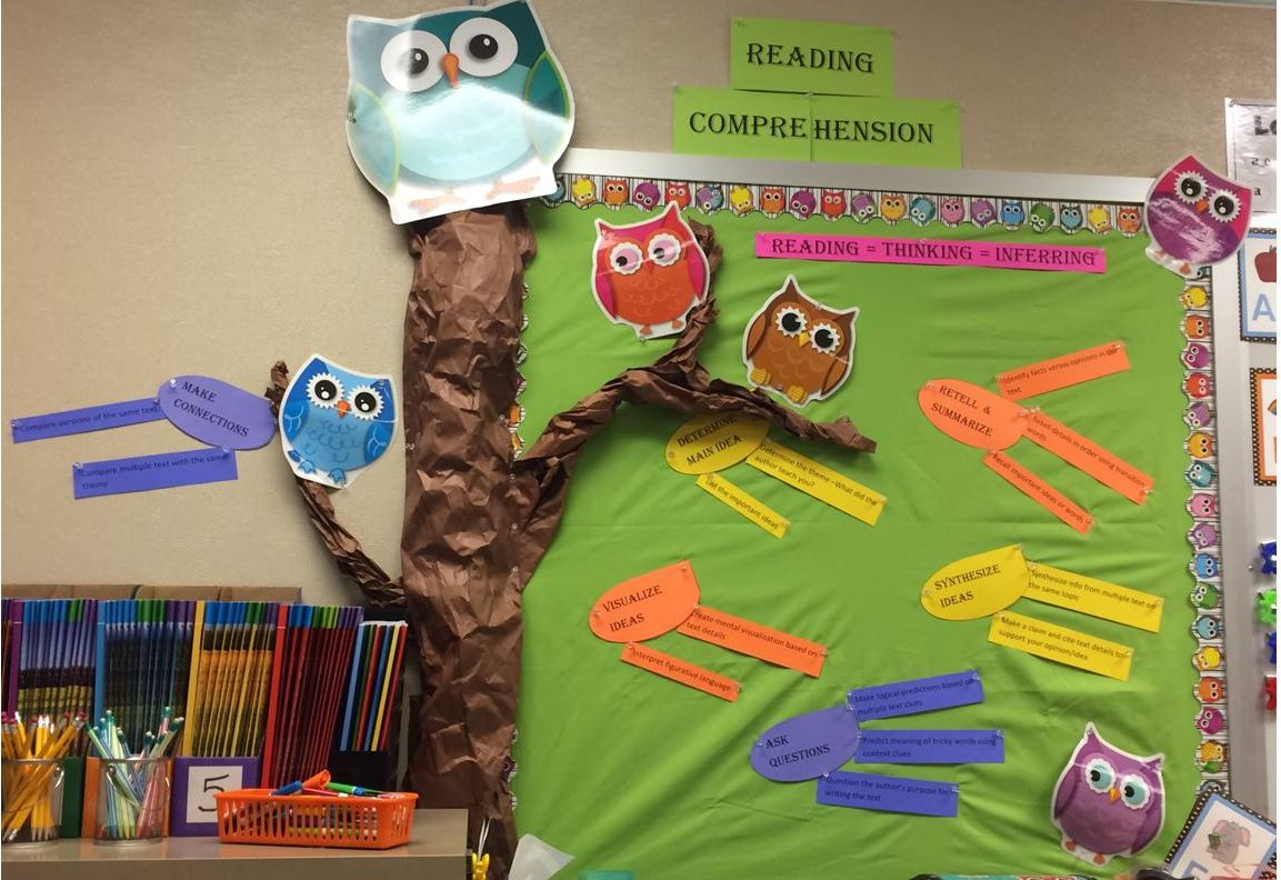 Owl Theme Bulletin Board