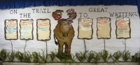6 Traits of Writing--On the Trail to Good Writing bulletin board