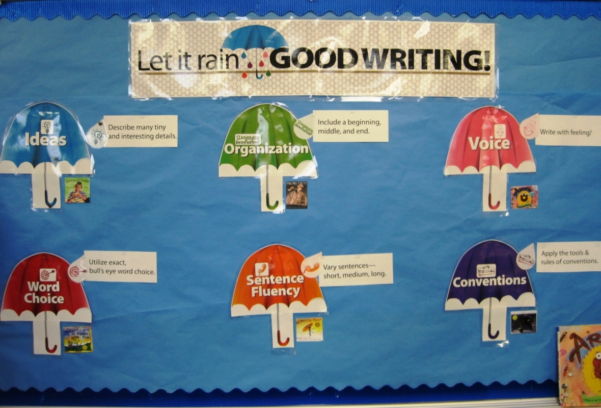 Angie Thiery's Let it Rain Good Writing Board