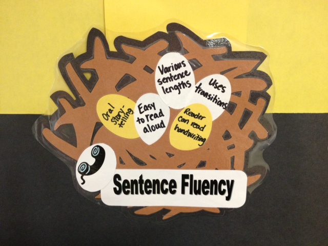 6 Traits of Writing--Nest for the Trait of Sentence Fluency