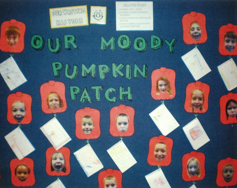 Share Voice with a Moody Pumpkin Patch