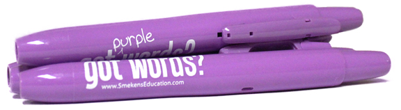 Smekens Education Got Purple Words? Purple Highlighters