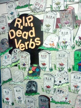 6-Traits Word Choice R.I.P. Overused Verbs
