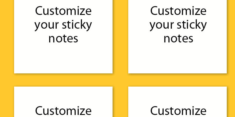 Provide Efficient Feedback with Customized Post-its