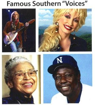 Famous Southern Voices Biographies