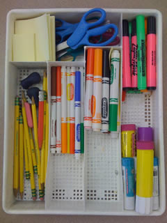 Organize Writing Supplies