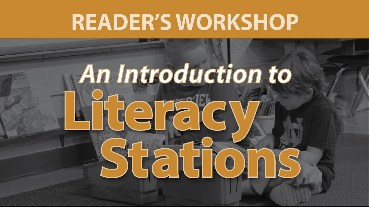 Smekens Education webAcademy An Introduction to Literacy Stations