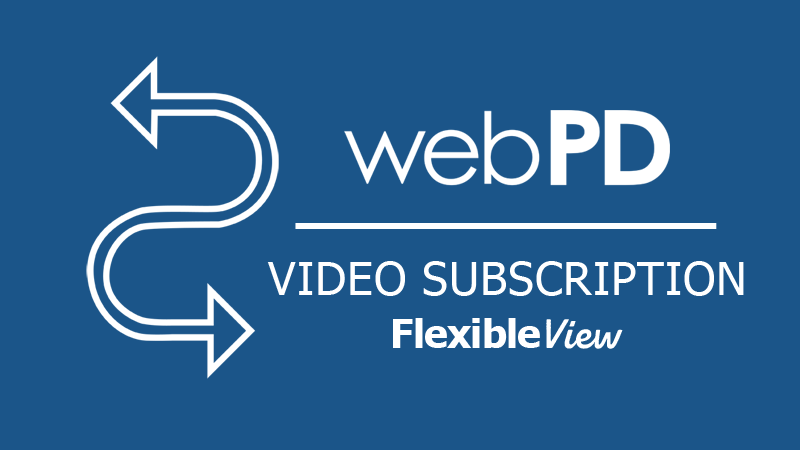 webPD Flexible View